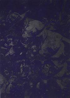 "Josef Danner   ""Strange Angels""  Mischtechnik / Leinwand 136x100cm 2005"