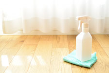 床・フローリング清掃、ワックス