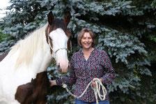 horseWOmans Melisco und Dagmar Längert
