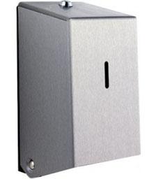 Toilettenpapierspender, Doppelrolle, Edelstahl