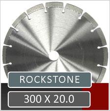 prodito slijpschijf 300mm x 20.0mm voor het verzagen van ebema rockstone met een benzine doorslijper