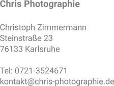 Anschrift Chris-Photographie
