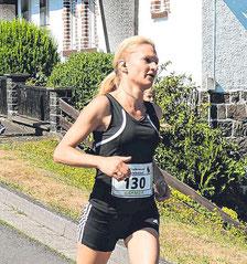 Nadine Koch (TuS Dotzlar) war die schnellste LGW-Frau