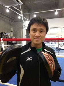 ボクシングジム会長代行