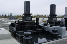 大雪霊園自由墓所新築墓石