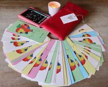 Oracle Mise en Lumière jeu de cartes Pascale Lecoq R'éveilleuse de l'être