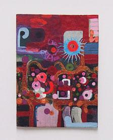 4.-Mixta sobre Carton 19,5x26,5 cm
