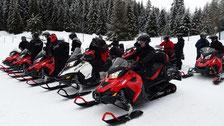 Sortie motoneiges 2016