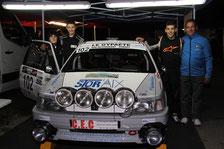 Rallye de Faverges 2015 - Anthony et Benjamin