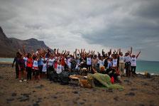 COUP, Beachclea, beachcleanup, Lanzarote Limpia, Lanzarote, 100 anos, manrique, limpieza de playa, playa el risco