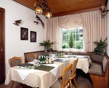 Jagdzimmer Nebenraum Saal Plumhoff, separater Raum, Frühstücksraum für Gruppen, Feierlichkeiten