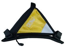 sacoche velo cadre accessoire cycle jaune yellow pas cher