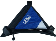 sacoche velo cadre accessoire cycle bleu blue pas cher