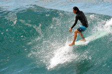 太東ロングボード サーフィン