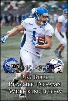 Big Blue (10) - (0) Challengers