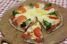 手軽にピザが簡単に作れます
