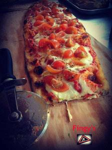 Fingy's pomodoro fresco&mozzarella