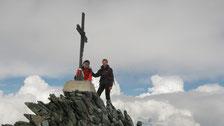Hervé et Gérard au sommet