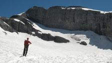 Fred sur le Glacier du Ruan