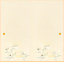 普及品織物 襖紙