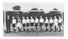 Die erste Altherren Mannschaft 1949