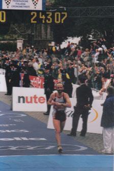 Maratona di Roma 2001.