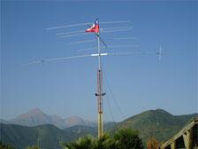 Dipolo Rigido para 40 mts   Rango 7.010 a 7.200 Mhz