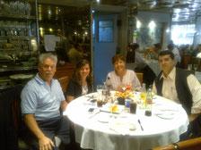 Visita del Dr. Rafael Aguiar Gevara y Sra. Milagros