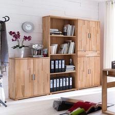 Libreria in legno di faggio