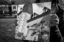 Elèves du collège Jacques Prévert , festival photo moncoutant