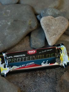 Eiweißriegel sollten >40% Protein haben