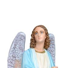 statua angeli portacandelabri