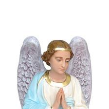 statua angeli in adorazione