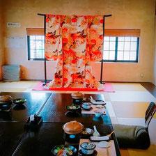 丸竹本店の宴会、コース料理