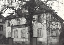 Firmensitz in Heidelberg 1957