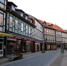 The picturesque city of Wernigerode
