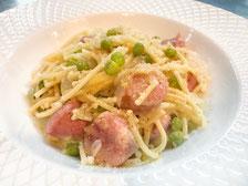 Pasta e pisselli パスタ・ピセッリ (グリーンピースのパスタ料理)