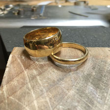 Remoulding Jewellery - Old Rings
