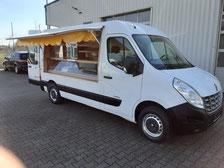 Bäckerwagen Bäckermobil gebraucht, Selbstfahrer, Verkaufswagen, Mercedes Sprinter