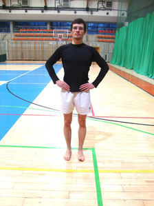 Rehabilitacja kolana: widok od frontu