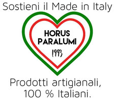 Paralumi artigianali, fatti a mano in Italia dal 1993.