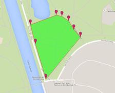Clara-Zetkin-Park, mittlerer Bereich, ca. 3 ha