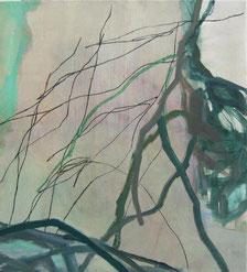 anfangs 2009 55 x 55 cm Öl / Leinwand