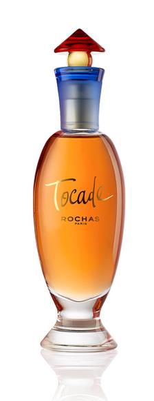 ROCHAS - TOCADE : FLACON EN VERRE TRANSPARENT