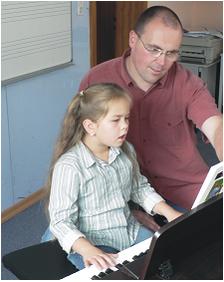Musiklehrer Heiko Stern in Kirchberg im Hunsrück