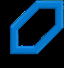6 Eckiges Logo