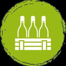Wein reduziert