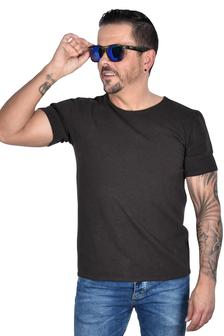 Hacoonshop T-Shirt braun