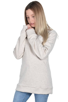 Hacoonshop Pullover natur