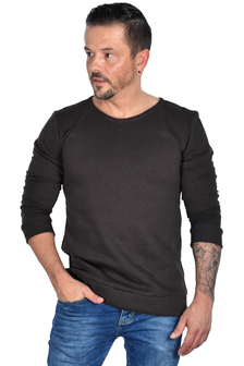 Hacoonshop Pullover braun